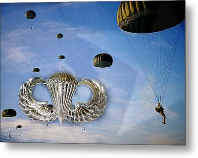 Airborne Metal Print by JC Findley