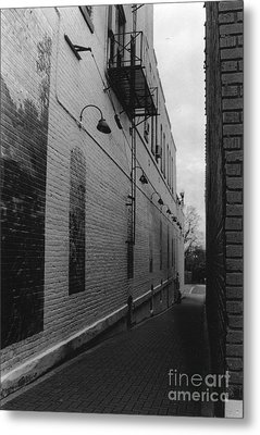 Alley Metal Print by Michelle OConnor