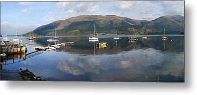 Metal Print featuring the photograph Along Loch Leven 3 by Wendy Wilton