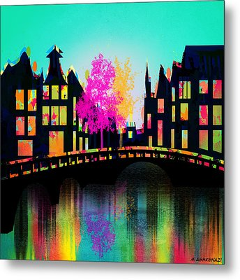 Amsterdam Metal Print by Mark Ashkenazi