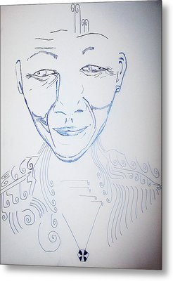 Angel Madiba - Nelson Mandela Metal Print by Gloria Ssali