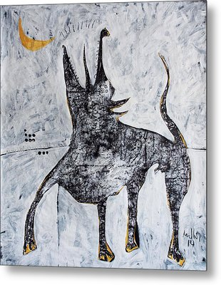 Animalia Canis No. 7  Metal Print