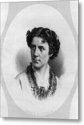 Anna Elizabeth Dickinson (1842-1932) Metal Print by Granger