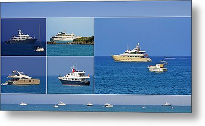 Antibes - Superyachts Of Billionaires Metal Print