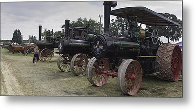 Antique Tractors Metal Print by Tim Mulholland
