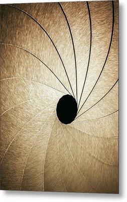 Aperture Metal Print by Ktsdesign