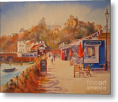 Around Folkestone Harbour Metal Print by Beatrice Cloake