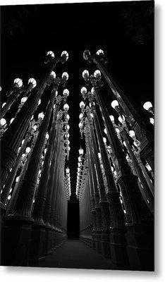 Urban Lights    Metal Print