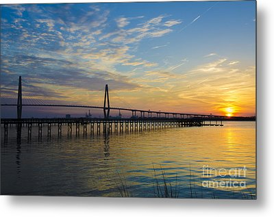 Metal Print featuring the photograph Magical Blue Skies by Dale Powell
