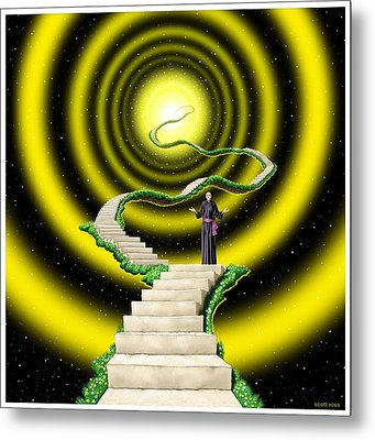 Ascension Metal Print by Scott Ross