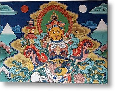 Asia, Bhutan, Punakha Metal Print