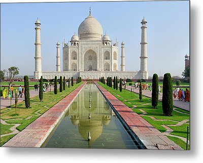 Asia, India, Uttar Pradesh, Agra Metal Print by Steve Roxbury