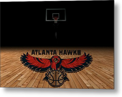 Atlanta Hawks Metal Print by Joe Hamilton