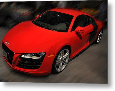 Audi R8 Metal Print by Dragan Kudjerski