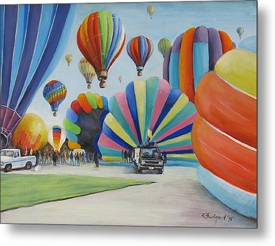Balloon Fest Metal Print