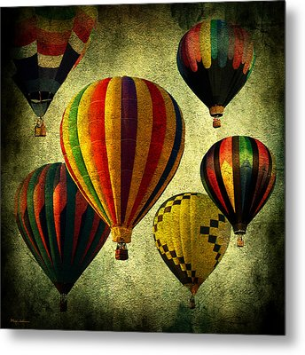 Balloons Metal Print by Mark Ashkenazi