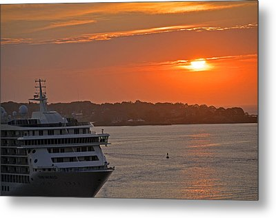 Bar Harbor Maine Sunrise  Metal Print