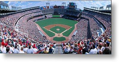 Baseball Stadium, Texas Rangers V Metal Print by Panoramic Images