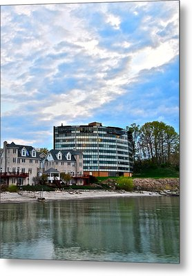 Beachfront Property Metal Print by Frozen in Time Fine Art Photography