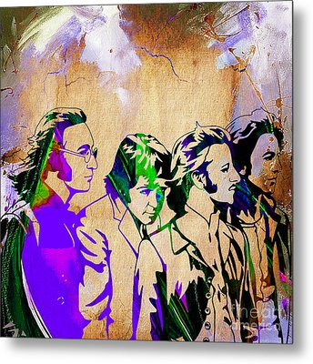 Beatles Collection Metal Print by Marvin Blaine