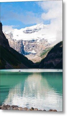 Beautiful Lake Louise Metal Print by Cheryl Baxter