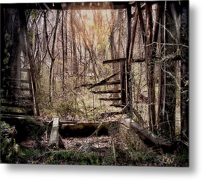 Metal Print featuring the photograph Been There by Bonnie Willis