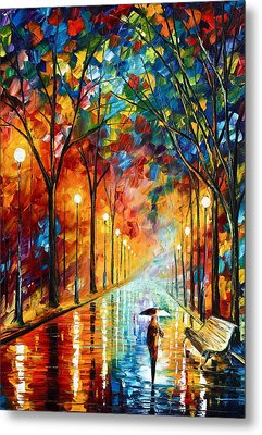 Before The Celebration Metal Print by Leonid Afremov