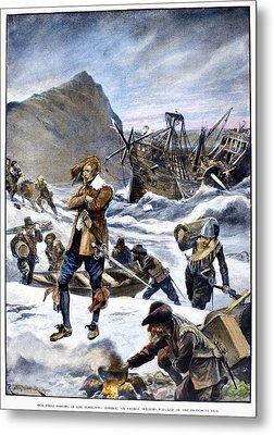 Bermuda Shipwreck, 1609 Metal Print by Granger