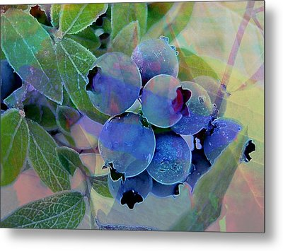 Berry Beautiful Metal Print