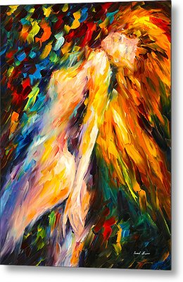 Bias Metal Print by Leonid Afremov