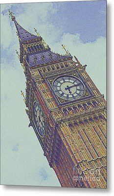 Big Ben In London Metal Print by Celestial Images