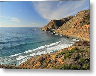 Metal Print featuring the photograph Big Sur Bridge by Scott Rackers