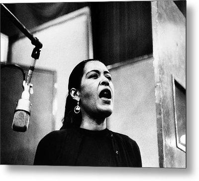 Billie Holiday (1915-1959) Metal Print by Granger