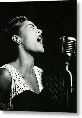 Billie Holiday Metal Print
