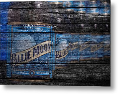 Blue Moon Metal Print by Joe Hamilton