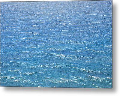 Metal Print featuring the photograph Blue Waters by George Katechis