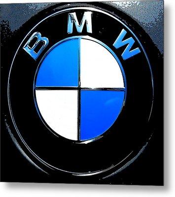 BMW Metal Print by J Anthony