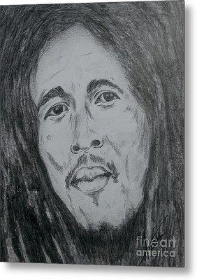 Bob Marley Metal Print by Collin A Clarke