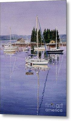Boothbay Harbor Metal Print