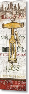 Bordeaux Blanc 1 Metal Print