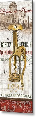 Bordeaux Blanc 2 Metal Print by Debbie DeWitt