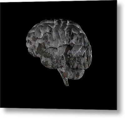 Brain Disease Metal Print