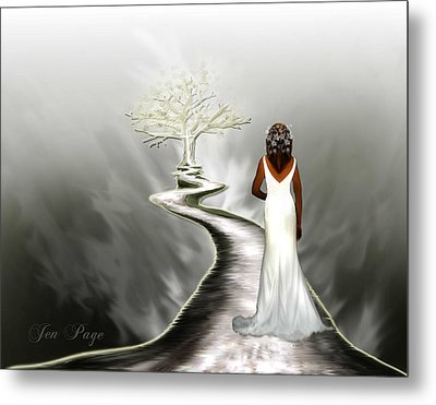 Bride Of Christ  Metal Print by Jennifer Page