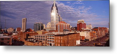 Buildings In A City, Bellsouth Metal Print by Panoramic Images