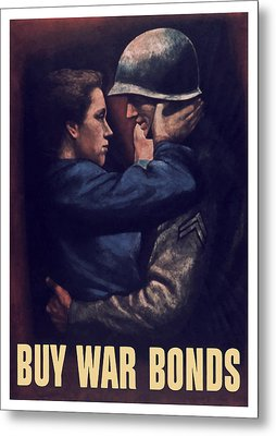 Buy War Bonds Metal Print by War Is Hell Store