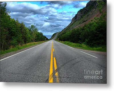 Metal Print featuring the photograph Cabot Trail by Joe  Ng