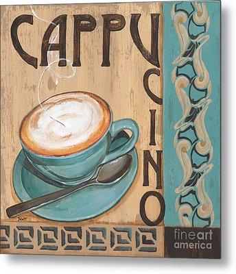 Cafe Nouveau 1 Metal Print by Debbie DeWitt