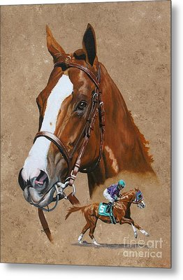 California Chrome Metal Print