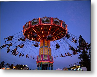 California State Fair In Sacramento Metal Print