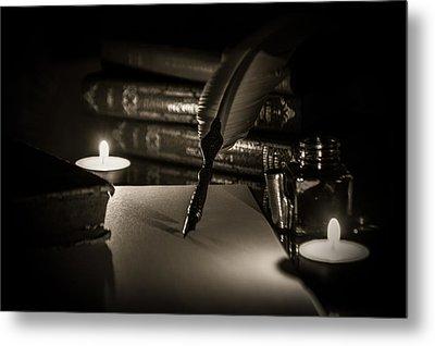 Candlelight Fantasia Metal Print by Andrea Mazzocchetti
